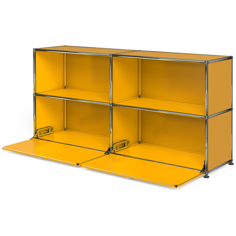 usm haller credenza c2a with two down doors