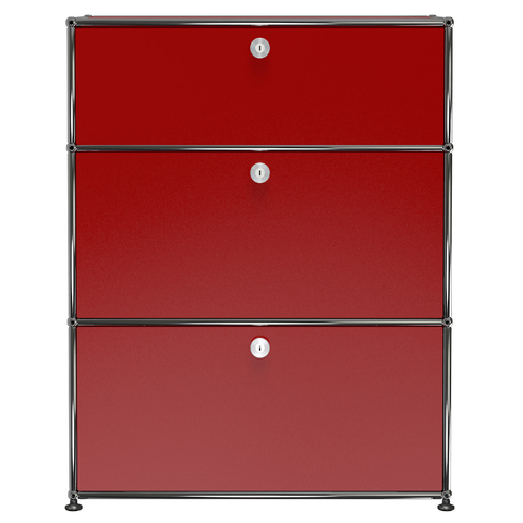 usm haller dresser n in red