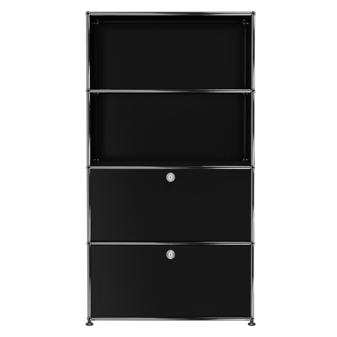 usm haller storage s1b in black