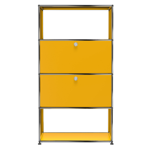 usm haller storage s1c in yellow