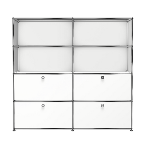 usm haller storage s2 in pure white