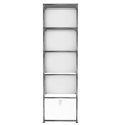 usm haller shelving k in white