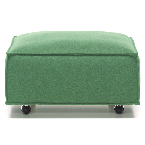 vitra alcove plume ottoman with casters