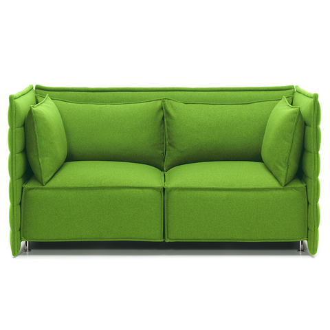 vitra alcove plume two-seater sofa