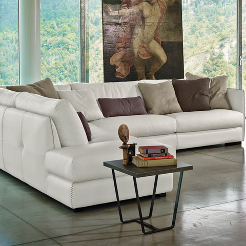 gamma alfred sectional sofa