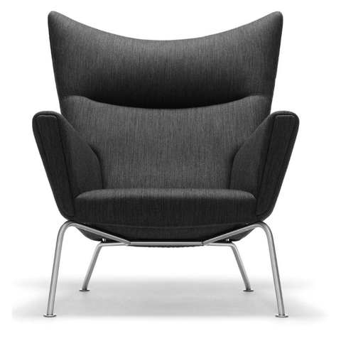 carl hansen ch445 wing lounge chair