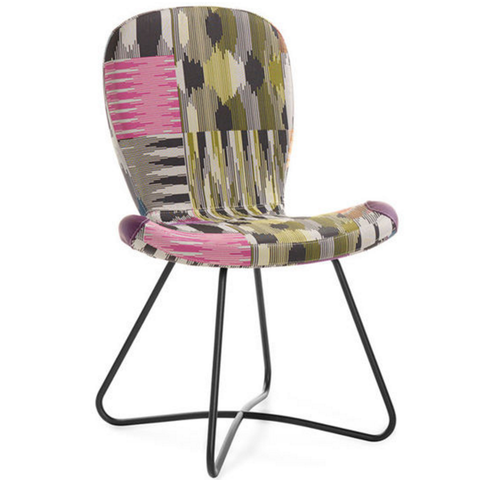 artifort patch 01 chair with sledge base missoni