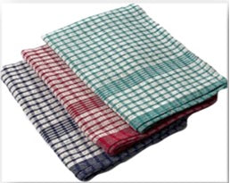 Wonderdry green check cloth 18 x 28""