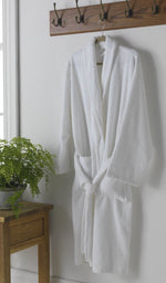 Load image into Gallery viewer, Unisex Luxury Cotton Towelling Bathrobe