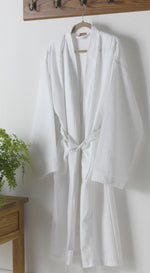 Load image into Gallery viewer, Unisex Cotton Blend Waffle Bathrobe