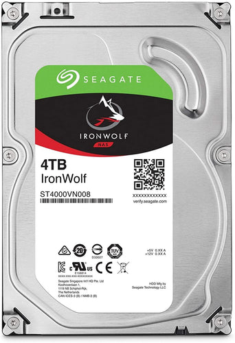 Seagate IronWolf HDD כונן פנימי - Seagate - Gem Drives 4TB