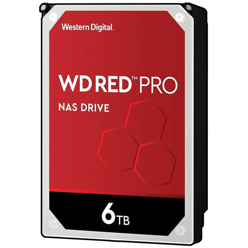 WD Red Pro - כונן קשיח 3.5״ - Western Digital - Gem Drives 6TB