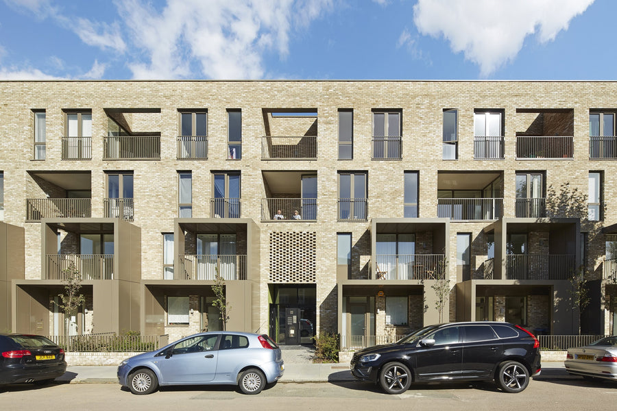 Windmill Court extra care housing, designed by PRP