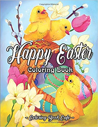 Happy Easter Coloring Book