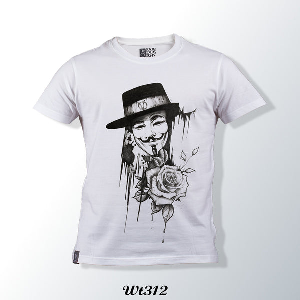 Joker White T Shirt