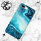 light blue marble case