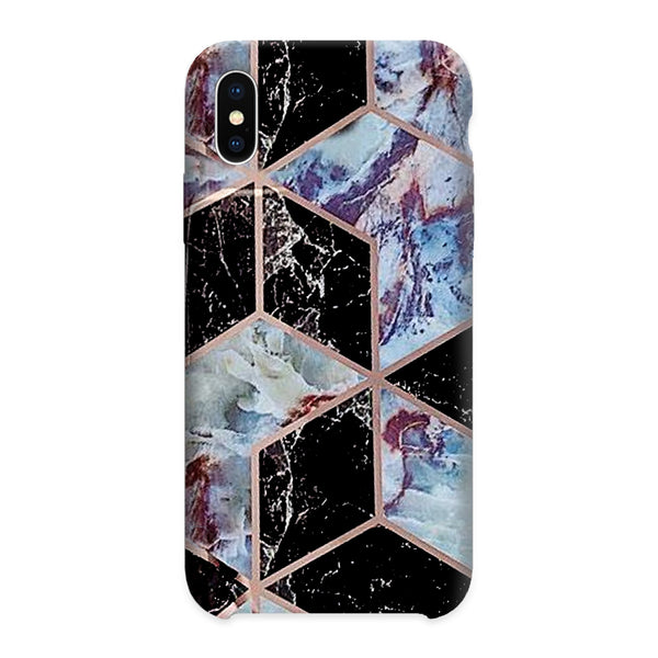 Black and Purle Marble case