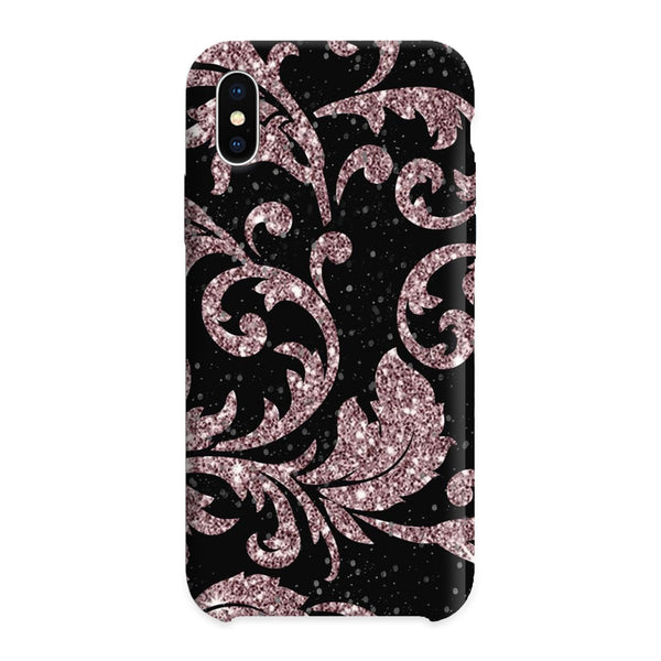 Black and Pink Glitter case