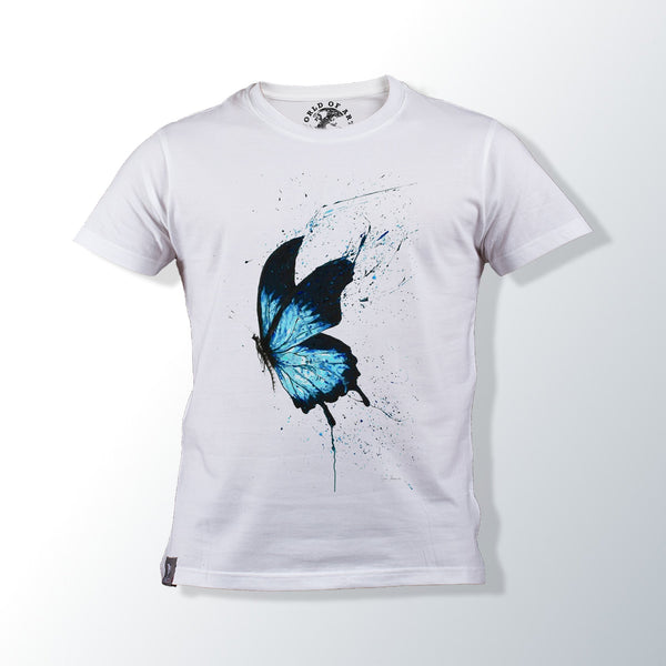 Butterfly White T Shirt