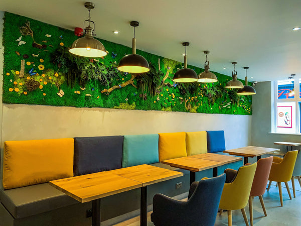 BESPOKE MOSS WALL ART AND PICTURES