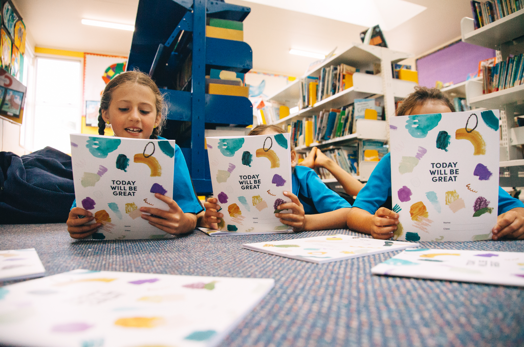 Jen Sievers X FRANK Stationery donate 25,000 schoolbooks to kiwi kids in need.