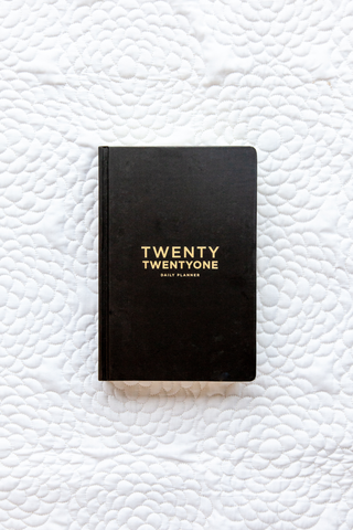 2021 Daily Planner | Black