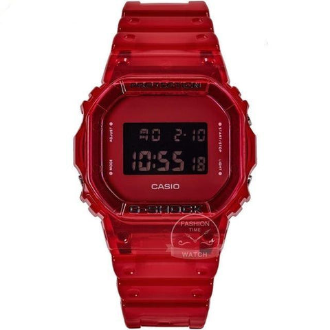 Montre Militaire Casio Rouge | Survie France