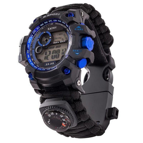 Montre Militaire LED Rouge | Survie France