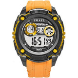 Montre Militaire Antichoc Orange