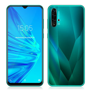 "XGODY A50 3G Smartphone 6.5"" 19:9 Waterdrop Screen Mobile Phone Android 9.0 1GB+4GB MT6580 Quad Core Dual SIM 5MP Camera 3000mAh"