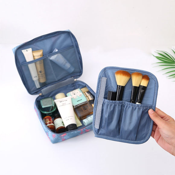 Multifunction Women Makeup Bags Cases Portable Travel Accessories Female Cosmetic Bag Toiletries Cosmetics Storage Organizer