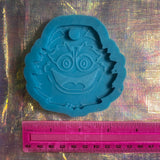 Gritty silicone mold