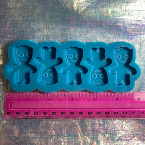 Sour Candy Littles - Silicone Mold