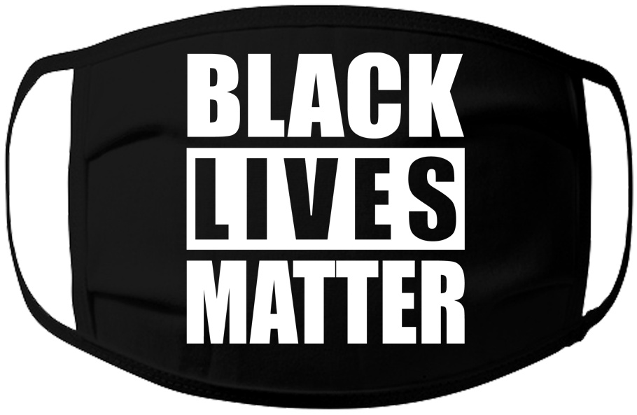 BLM-Black Lives Matter Face Mask- 3 ply 100% Jersey Cotton Washable