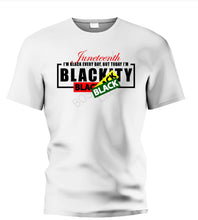 "Load image into Gallery viewer, 1856 Juneteenth ""Blackity"" Tee"