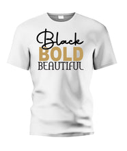Load image into Gallery viewer, Black BOLD Beautiful Tee