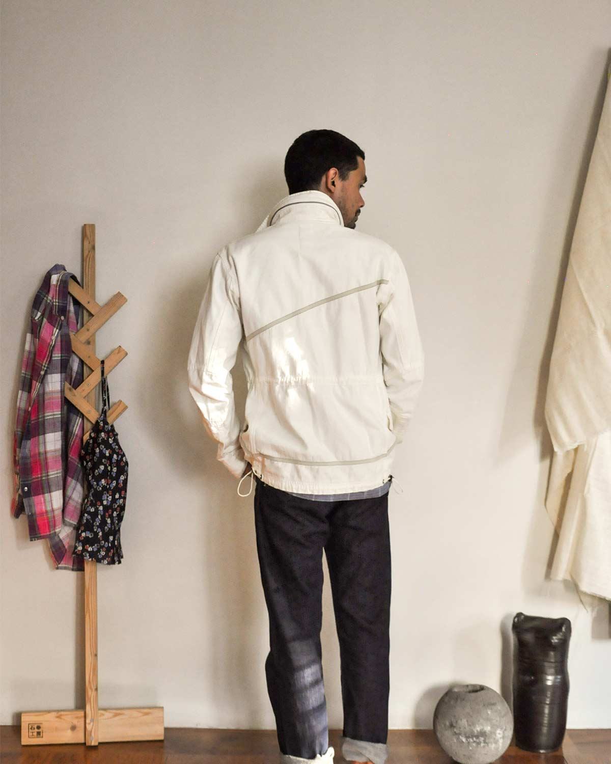 Nonnative Moleskin Cotton Parka