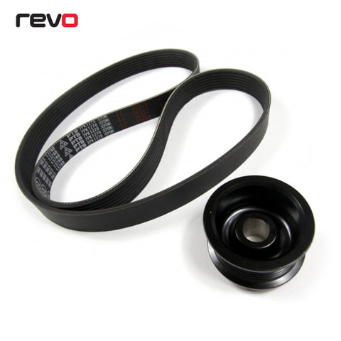 3.0 TFSI SUPERCHARGER PULLEY UPGRADE KIT | REVO | AUDI A4 A5 Q5 Q7 S4 S5 |