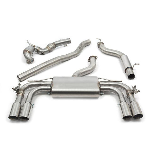 Audi S3 (8V) 3 door (Valved) Turbo Back Performance Exhaust