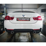 BMW 435D (F32 / F36) 440i Style Dual Exit Exhaust Conversion