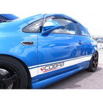 Cobra Sport Vinyl Vehicle Side Stripes Package