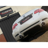 BMW 318D/320D (E91/E92) Dual Exit Performance Exhaust Conversion