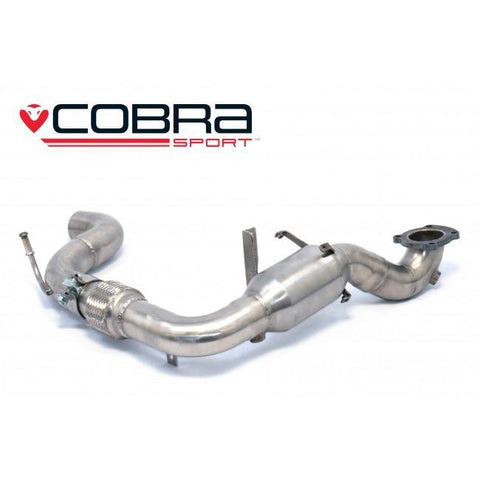 Ford Fiesta (Mk8) 1.0T EcoBoost ST-Line Front Pipe Sports Cat / De-Cat Performance Exhaust