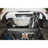 Ford Fiesta (Mk8) ST GPF-Back Valved Performance Exhaust