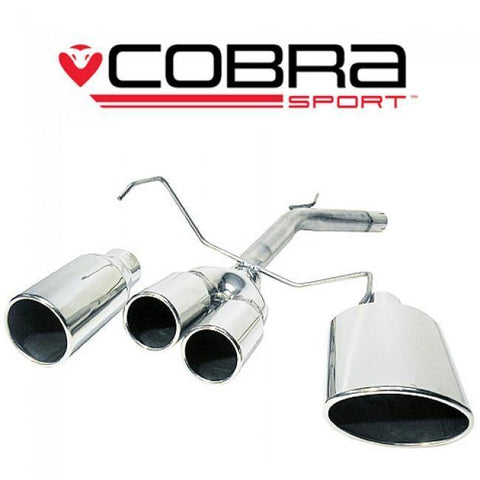 Holden Corsa C 1.2 & 1.4 (00-06) Rear Section Performance Exhaust
