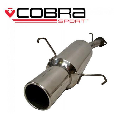 Holden Corsa C 1.2 & 1.4 (00-06) Rear Box Performance Exhaust