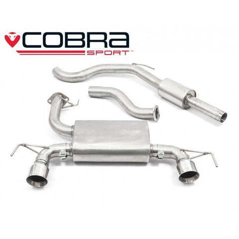 Holden Corsa D VXR Nurburgring (10-14) Cat Back Performance Exhaust
