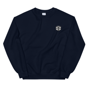"Sweatshirt - ""DICE"" EMBROIDERY - Navy"