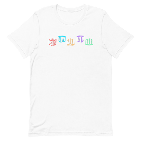 "T-Shirt - ""BLOCKS"" - White"