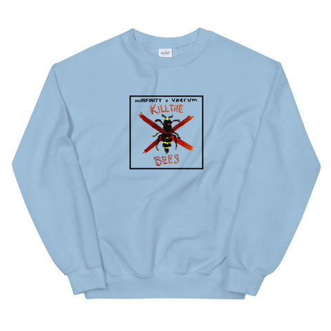 "Sweatshirt - ""KILL THE BEES"" x Vaerum - Blue"